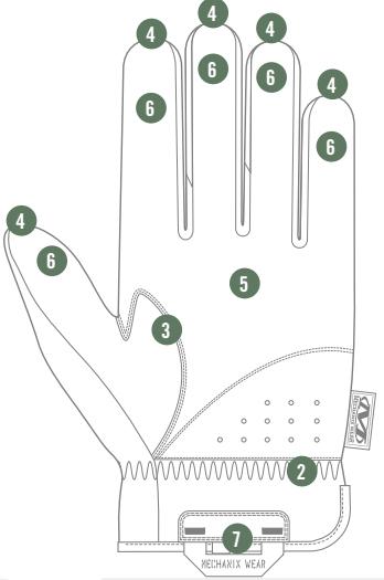 12893 12623 Glove 211