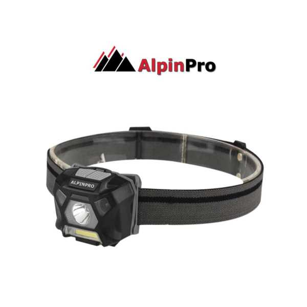SensorPlus flashlight headband AlpinPro