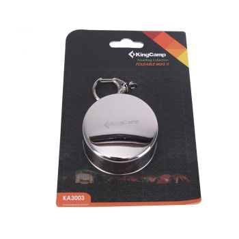 KingCamp Foldable Stainless Steel Cup