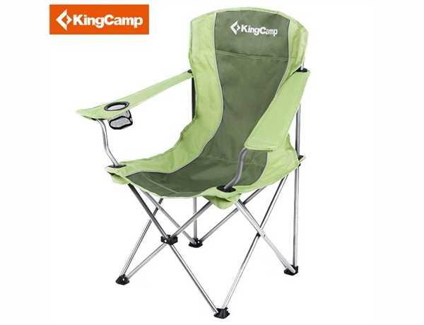 Kingcamp ptyssomeni karekla Camping Steel Armchair 0