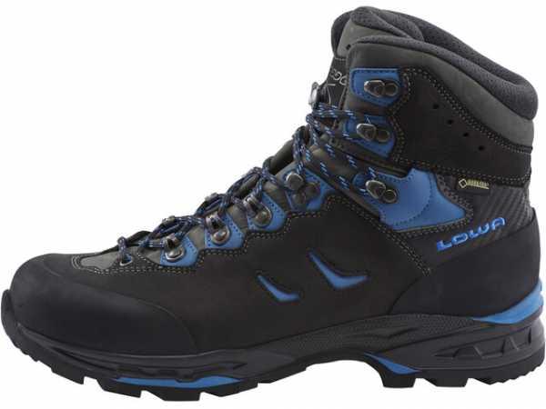 Lowa Camino GTX Trekkingschuhe Herren black blue640x480 5
