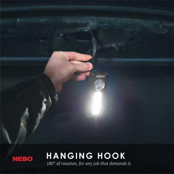 6809 Black Info Hook