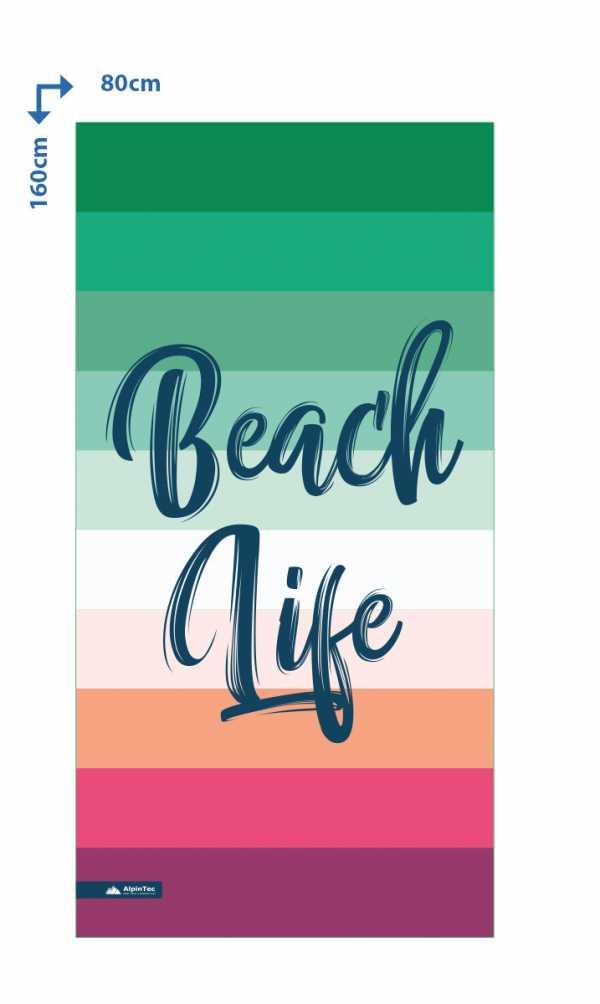 Alpintec BeachLife Towel 80x160