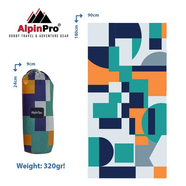 Alpintec Beach Towel 3