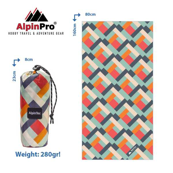 Alpintec Beach Towel 5 1