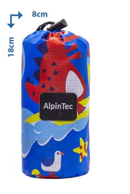 Alpintec Beach Towel Kids Dino 70x120 1