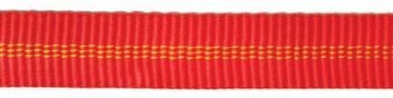 tubular tape red