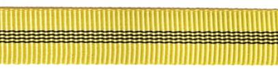 tubular tape yellow